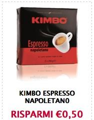 Buoni sconto caffè Kimbo espresso napoletano