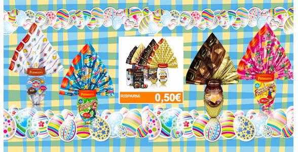 Buoni sconto uova di Pasqua Pernigotti