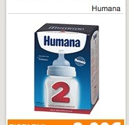 Coupon Humana latte in polvere