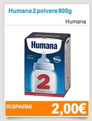 Coupon Humana latte