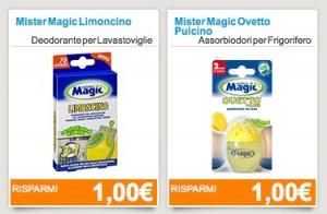 Risparmia sulla spesa con Mister Magic!