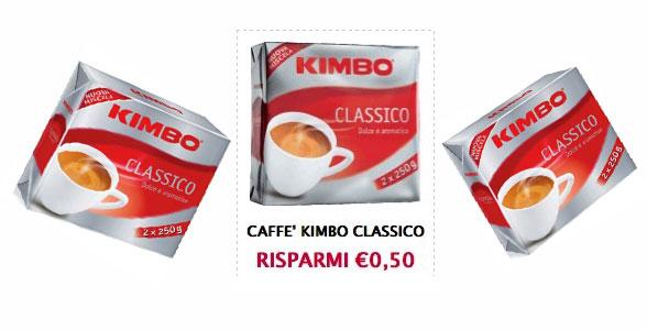 coupon caffè kimbo - Buoni sconto caffè Kimbo