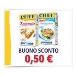 coupon panna chef 150x150 - Buoni sconto Parmalat, besciamella Chef