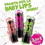 Buono sconto Baby Lips e concorso