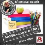 Coupon spesa Auchan per la scuola