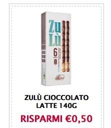 Coupon cioccolato Zulù - Coupon cioccolato Zulù!