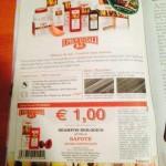 Coupon sulle riviste in italia Telesette