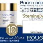Coupon da stampare Rougj crema SteminelVeg 150x150 - Coupon Rougj: 10 euro di sconto per te
