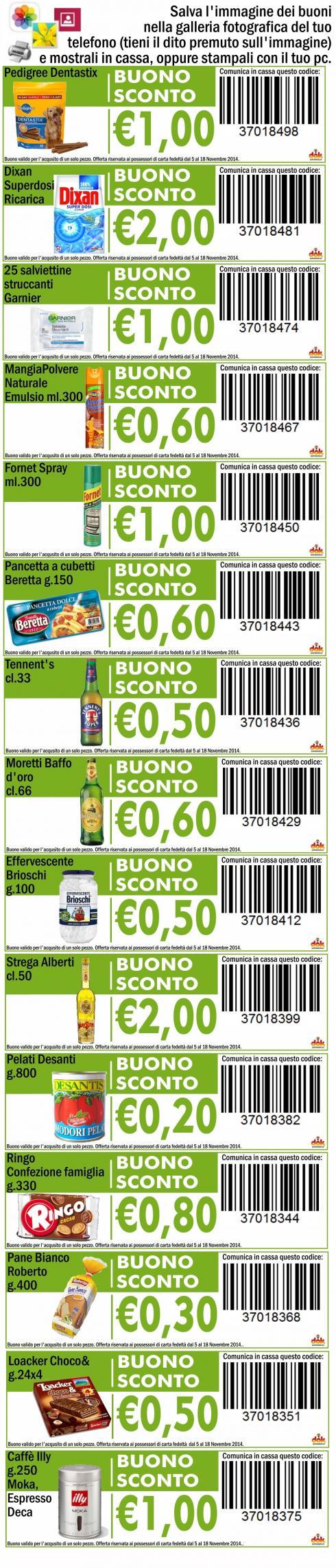 Buono sconto pagina 40 di 61 coupon da stampare e for Buoni coupon