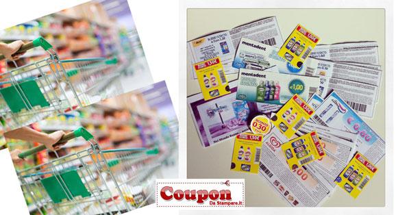 Dove posso trovare i coupon per fare la spesa