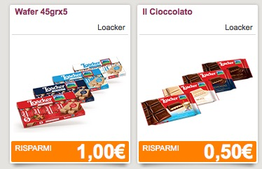 Loacker coupon in scadenza
