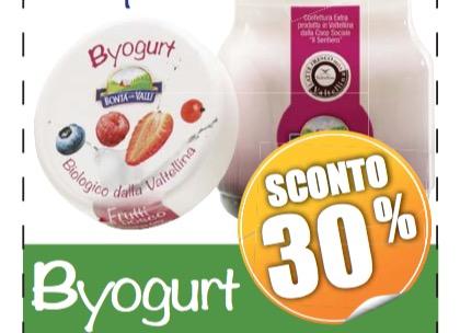 Buono sconto alimentare Iperal BYogurt