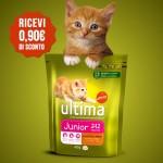 Buono sconto per gatti Ultima Petfood