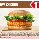 Stampa i coupon Burger King fino a Maggio