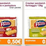 Coupon spesa Gran Pavesi Cracker Sandwich