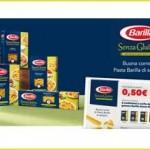 Buono sconto Barilla pasta senza glutine