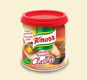 Buono sconto Knorr brodo granulare