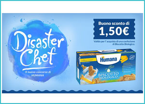 Coupon biscotto biologico Humana