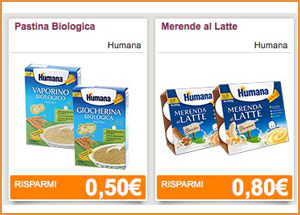 Coupon da stampare Humana