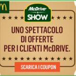 Stampa il nuovo coupon McDonald