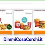 Buoni sconto McDonald su DimmiCosaCerchi