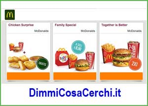 Mcdonalds italy coupons