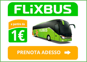 Con Flixbus autobus per solo 1 euro