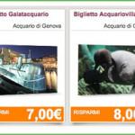 Acquario di Genova con il buono sconto
