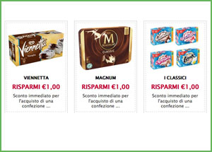 Coupon Algida da stampare