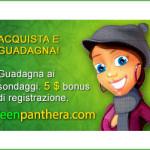 Guadagna con Greenpanthera