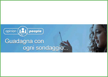Guadagna con Opinion People