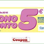Coupon spesa Carrefour 5€