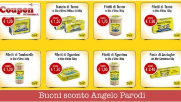 Coupon sconto Angelo Parodi