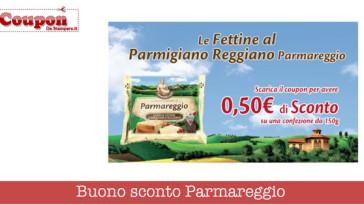 Parmareggio: buoni sconto fettine al Parmigiano