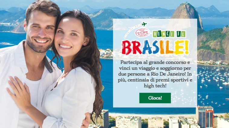 Vinci viaggio in Brasile con Crai