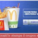 McDonald's: stampa il coupon sconto merenda a 2€