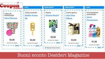 desideri magazine buoni sconto 364x205 - Desideri Magazine: sono tornati i buoni sconto!
