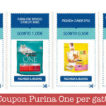 Coupon Purina One per gatto