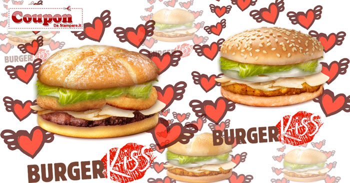 Coupon Burger King stampabile
