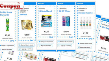Coupon Desideri Magazine di Luglio: stampa e risparmia