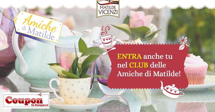 buoni sconto Matilde Vicenzi