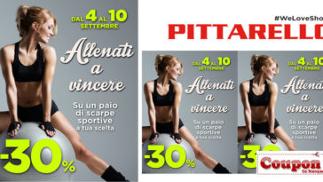 Coupon da stampare Pittarello