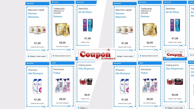 Coupon detersivi coupon da stampare e buoni sconto - Detersivi you ...
