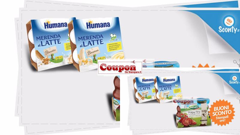 coupon humana e valfrutta