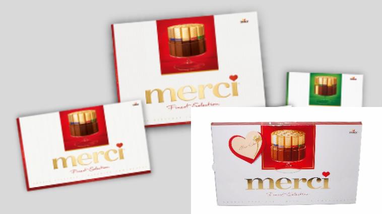 cioccolatini Merci Finest Selection