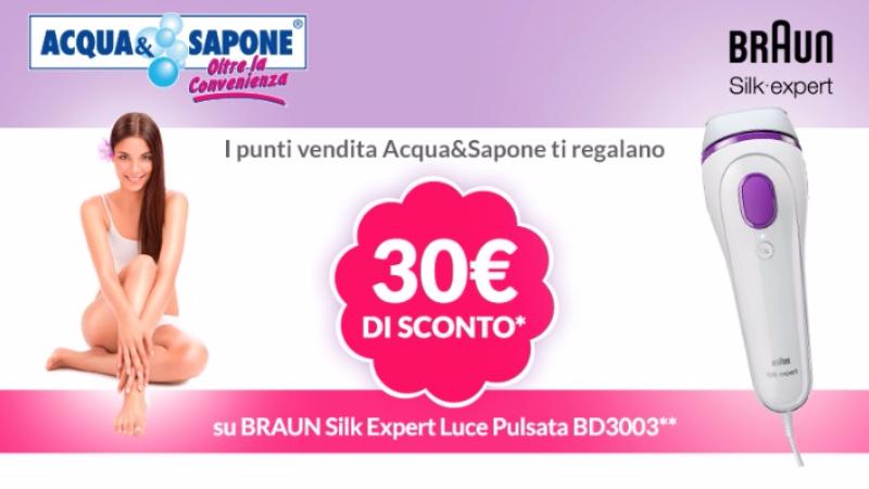 Coupon Acqua&Sapone: stampa e risparmia
