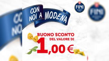 Buono sconto Fini Modena