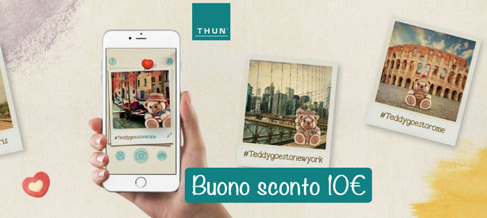 coupon sconto thun