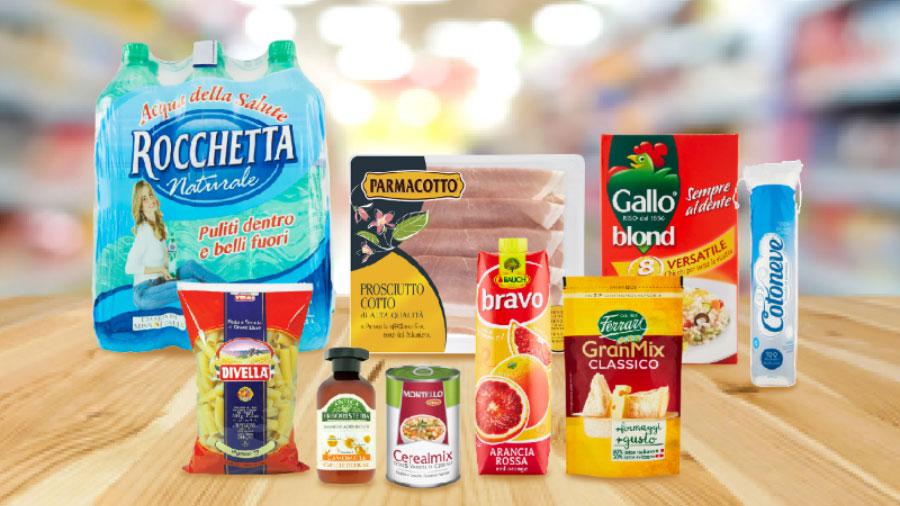 Coupon digitali Rocchetta, Parmacotto, Divella, Cotoneve