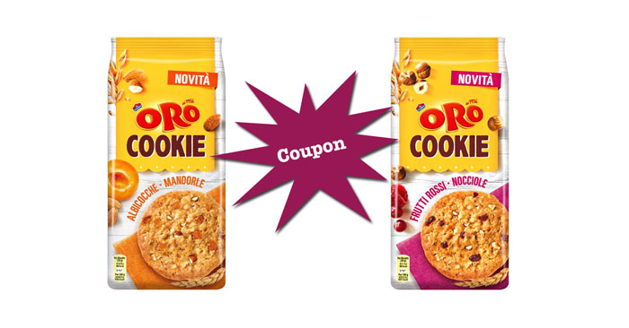 coupon sconto Oro Cookie Saiwa